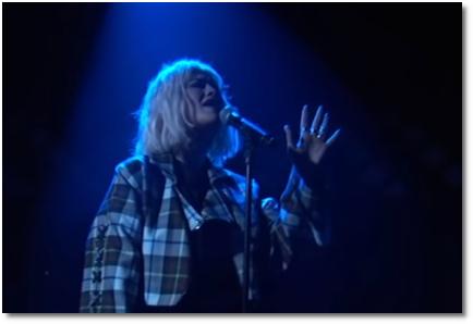 Rita Ora singing Let Me Love You on Jimmy Kimmel (6 Dec 2018)