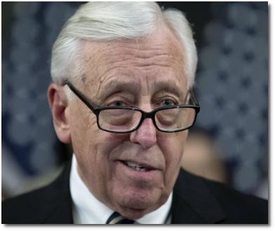 House majority leader Steny Hoyer (born 1939)