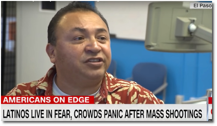 Latinos living in fear after mass shooting in El Paso (Brooke Baldwin, 9 Aug 2019)