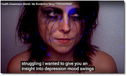 Lilium's borderline story for Mental Health Awareness month (10 Oct 2017)
