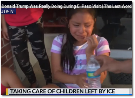Magdalena Gomez Gregorio (11) crying after parents deported (t=6:00, 8 Aug 2019)