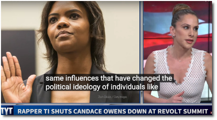 Ana says that Candace Owens is a grifter whose political ideology is influenced by money (17 Sept 2019)