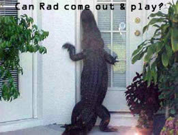 Can Rad come out & play?