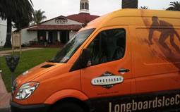 Longboards Ice Cream truck