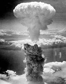 Nagasaki nuclear bomb explosion