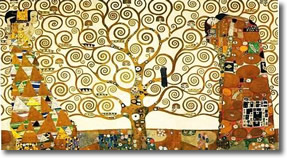 Gustav Klimt Tree of Life 1909