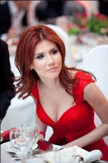 Anna Chapman, Russian Spy in a Red Dress