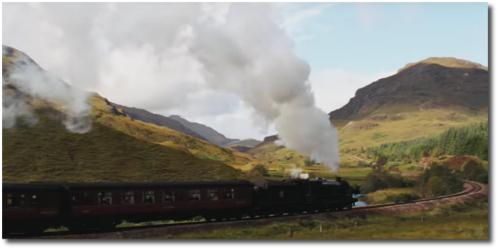 Steam locomotive from Cloud Atlas