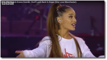 Manchester sings 'Dont Look Back in Anger' June 4, 2017