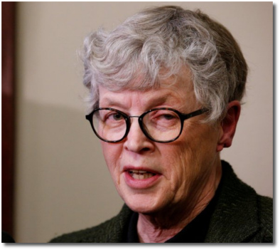 Lou Anna Simon | President Michigan State University accepts no responsibility for what happened under her leadership and supervision