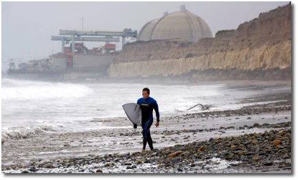 Surfer dude at San Onofre
