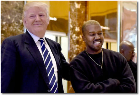 President-elect Trump and Kanye at Trump Tower (Tues, 13 Dec 2016)