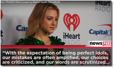 Lili Reinhart speaks to being saddled with unrealistic expectations (Aug 2018)